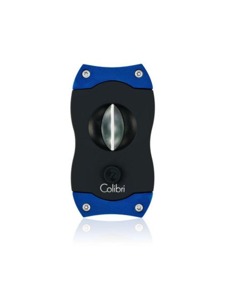 Colibri Colibri V-CUT Cigar Cutter - Black and Blue