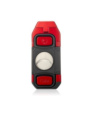 Colibri Colibri Boss Lighter with Cutter - Red