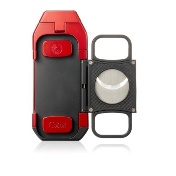 Colibri Boss Lighter with Cutter - Red