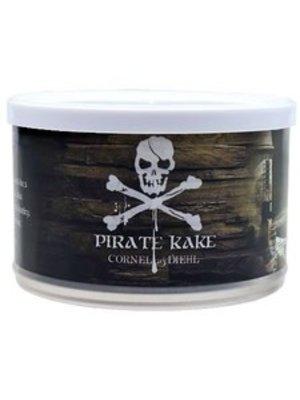 Cornell & Diehl C&D Pipe Tobacco Pirate Kake Tins 2 oz.