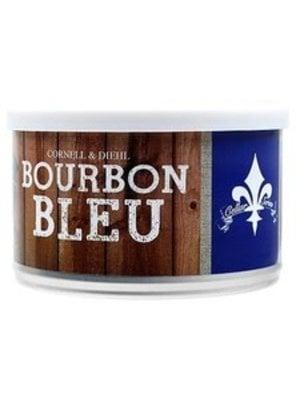 Cornell & Diehl C&D Pipe Tobacco Bourbon Bleu Tins 2 oz.