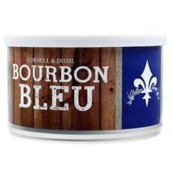 C&D Pipe Tobacco Bourbon Bleu Tins 2 oz.