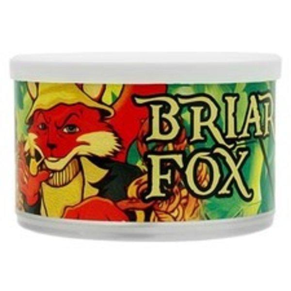 C&D Pipe Tobacco Briar Fox Tins 2 oz.