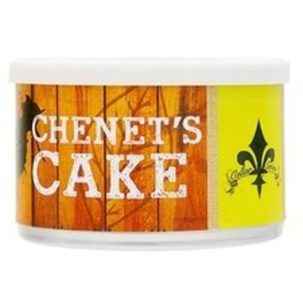C&D Pipe Tobacco Chenet's Cake Tins 2 oz.
