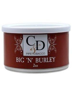 Cornell & Diehl C&D Pipe Tobacco Big n Burley Tins 2 oz.