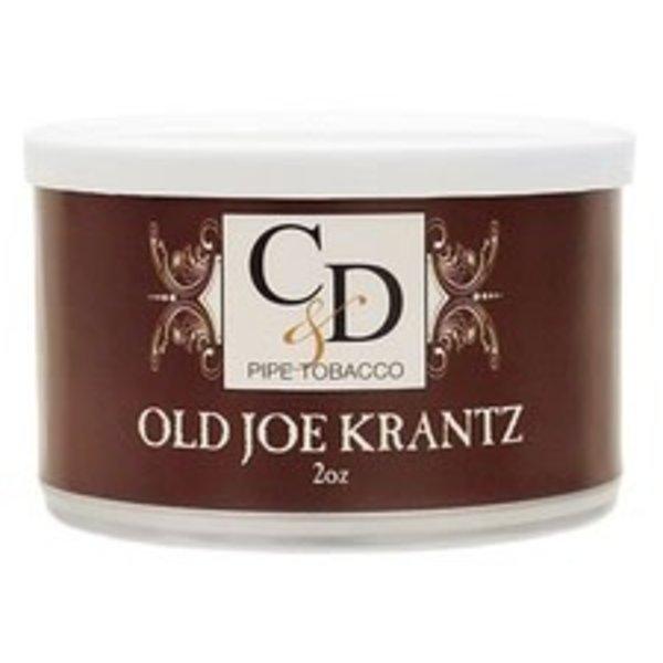 C&D Pipe Tobacco Old Joe Krantz Tins 2 oz.