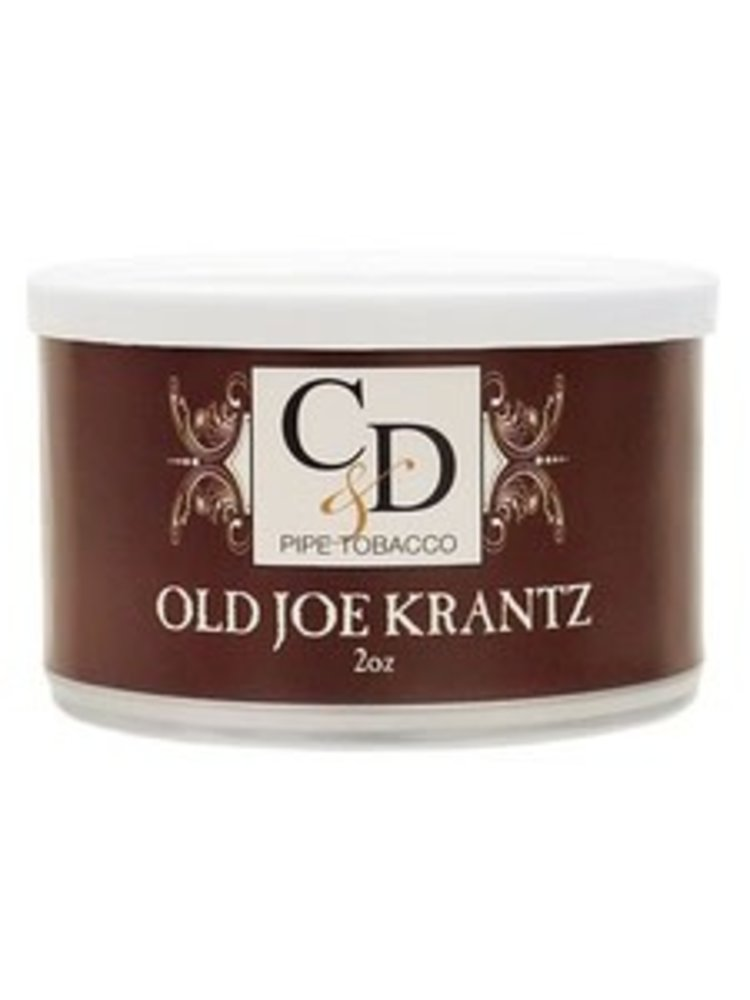 Cornell & Diehl C&D Pipe Tobacco Old Joe Krantz Tins 2 oz.