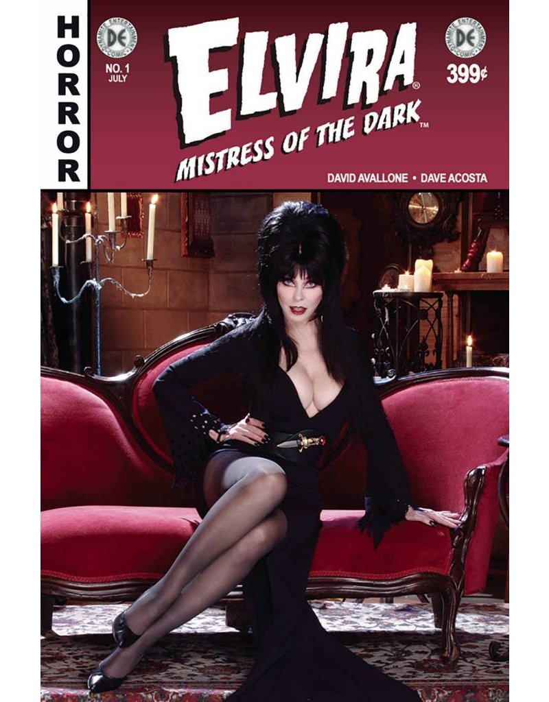 DF ELVIRA #1 PHOTO VARIANT SIGNED BY ELVIRA