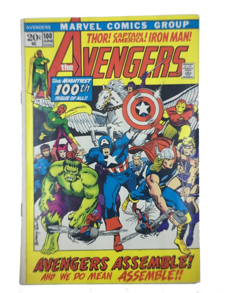 Marvel Comics Avengers #100 (.20 cover)
