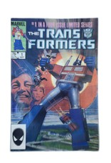 Marvel Comics Transformers #1 First Printing