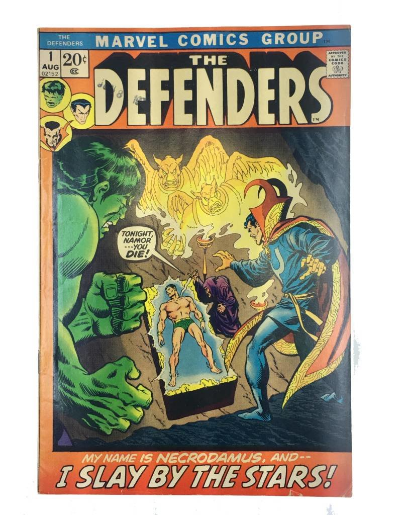Marvel Comics The Defenders #1 (.20 cover)