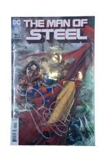 DC Comics DF MAN OF STEEL #1-6 SUPER SIX PACK SGN BENDIS