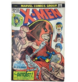Marvel Comics X-men #81 (.20 cover)