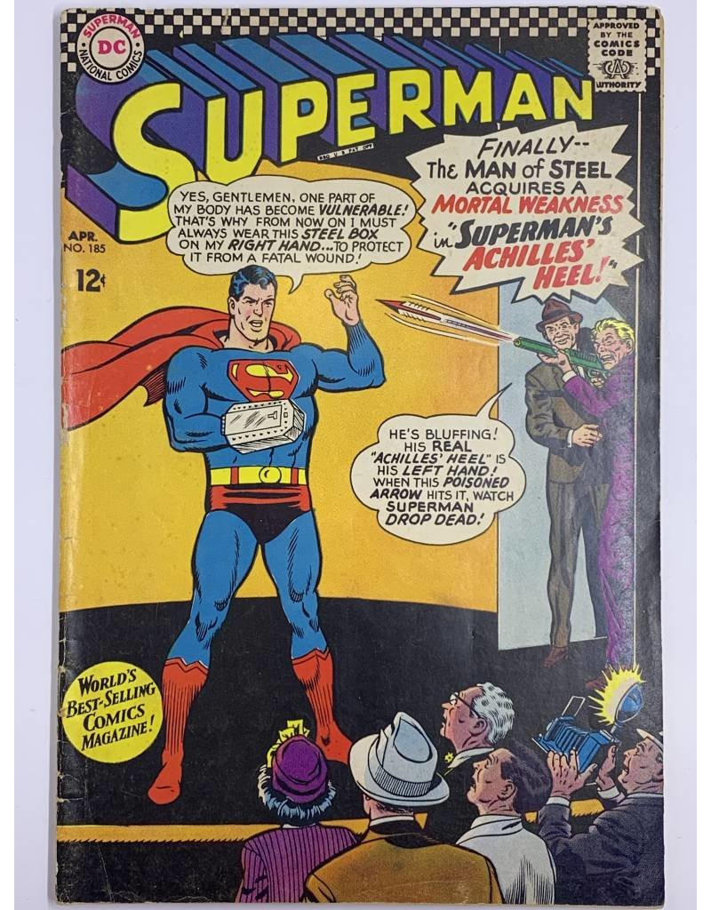 DC Comics Superman #185