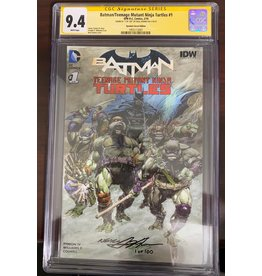 DC Comics Batman/Teenage Mutant Ninja Turtles #1 CGC 9.4 signed by Neal Adams