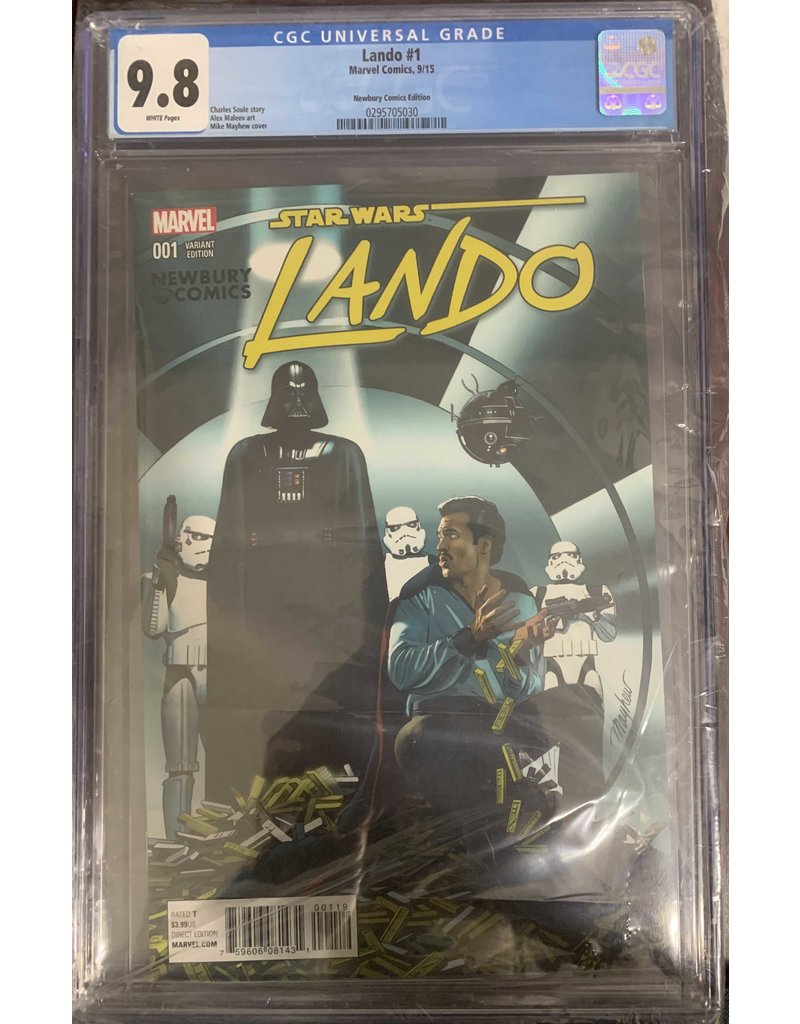 Marvel Comics Lando #1M CGC 9.8
