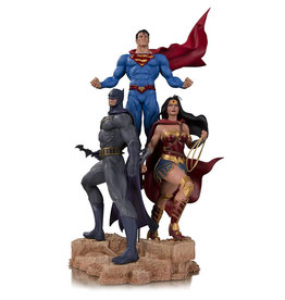 DC Comics DC Designer Trinity by Fabok Statue