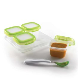 OXO Baby Blocks 4oz (4 pieces w/tray)