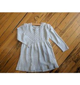 Kanz Winter Wonderland Knit Dress - Icicle