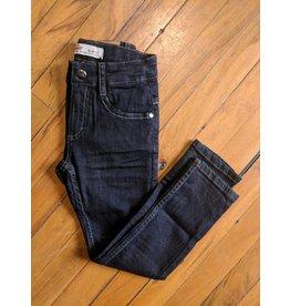 Kanz Modern Fit 5-Pocket Denims - Black Wash