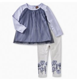 Tea Collection Tulle Baby Outfit - Lilac Mist