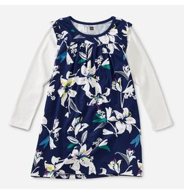 Tea Collection Layered Sleeve Mighty Mini-Tropical Lillies