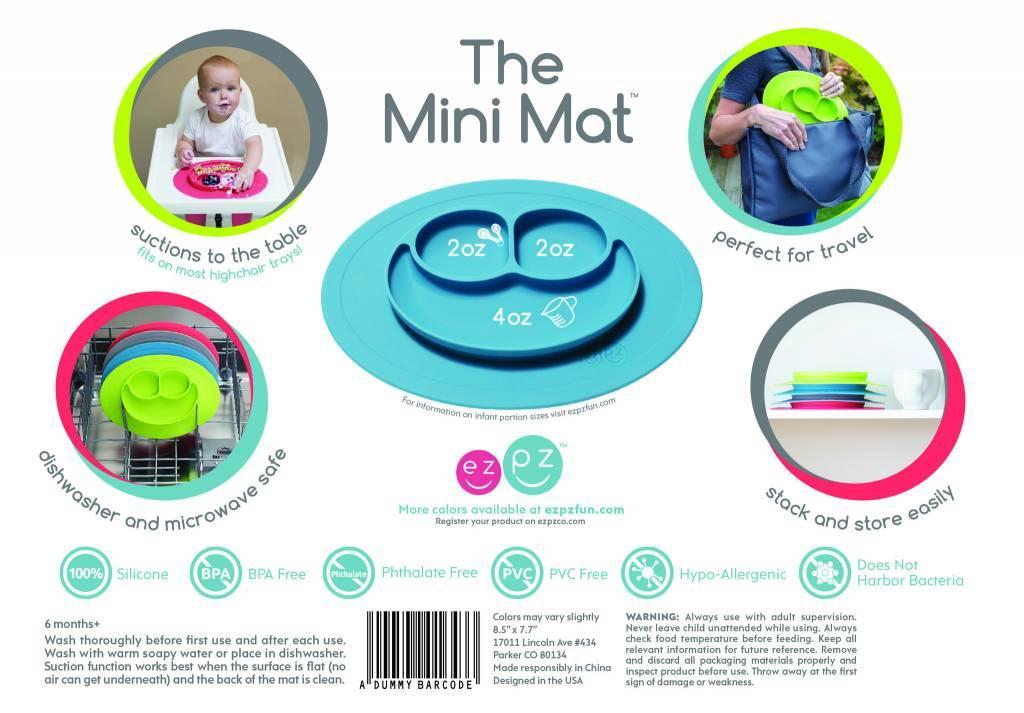 Mini Mat Lime Bump Baby Llc