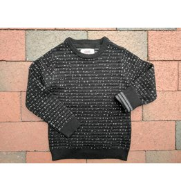 Kanz Classic College Sweater - Black Marl