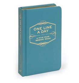 Chronicle Books One Line A Day: A 5 Year Memory Book