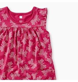 Tea Collection Stitch Printed Mighty Mini Dress
