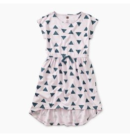 Tea Collection Ikat Triangles Hi-Lo Dress
