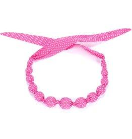 Peppercorn Kids Peppercorn Kids Sprinkles Necklace - Hot Pink