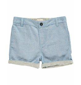 Me + Henry Me + Henry Chambray Shorts - Stripe