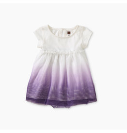 Tea Collection Tulle Romper Dress - Taro