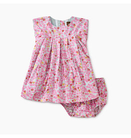 Tea Collection Ditsy Pleated Baby Dress