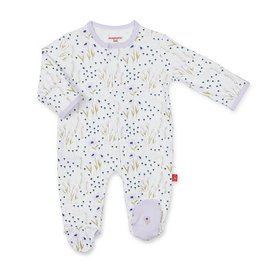 Magnificent Baby Magnetic Cotton Footie - Fieldston
