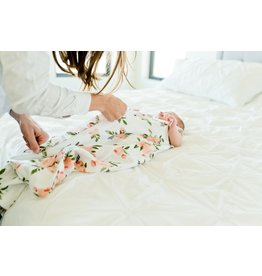 Little Unicorn Muslin Sleep Bag - Watercolor Roses