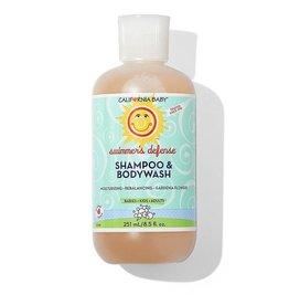 California Baby California Baby Shampoo & Bodywash - Swimmer's Defense 8.5oz