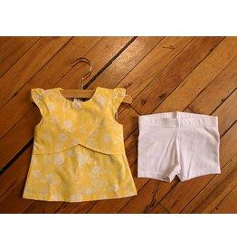 E.M.C. Yellow Fields Dress & Short Set