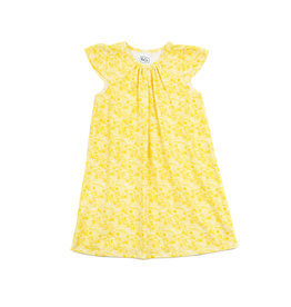 Emerald August Kate Dress - Yellow Fields