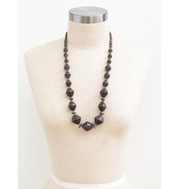 31 Bits Entertainer Necklace - Black