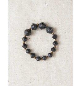 31 Bits The Collector Bracelet - Black