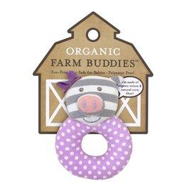 Farm Buddies Penny the Pig - Rattle