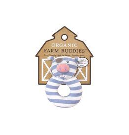 Farm Buddies Pirate Pig - Rattle