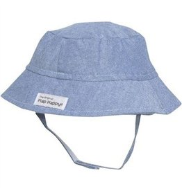 Flap Happy Crusher Hat - Chambray