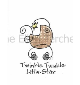 Jane Ellen Paintings Twinkle Twinkle Print - 5x7