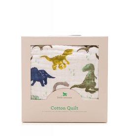 Little Unicorn Cotton Quilt - Dino Friends