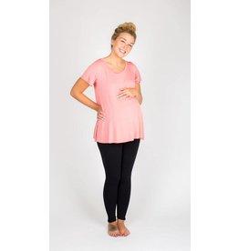 NOM Maternity Mimi Maternity Tee - Rose