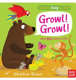 Random House Can you say it, too? Growl!