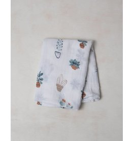 Little Unicorn Muslin Swaddle - Prickle Pots
